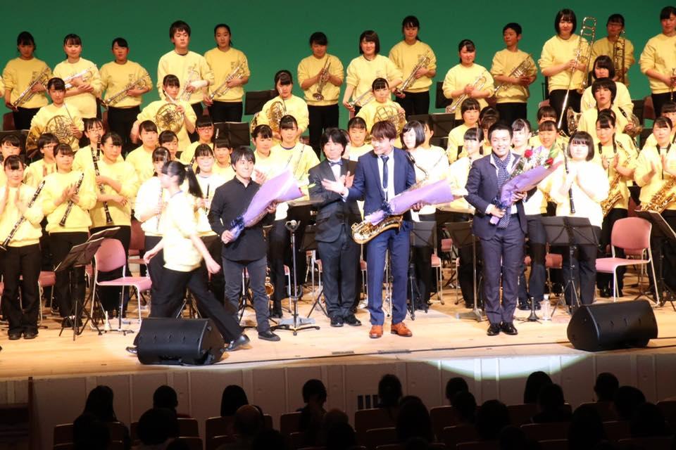 酒井根中学校吹奏楽部定期演奏会ゲスト出演