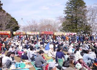 さくら祭り@あけぼの山