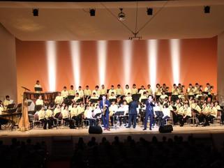 柏市立酒井根中学校吹奏楽部定期演奏会 ゲスト出演