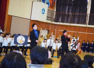 松戸市立小金中学校吹奏楽部定期演奏会 ゲスト出演