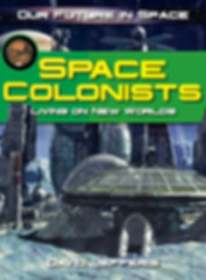Space Colonists by David Jefferis