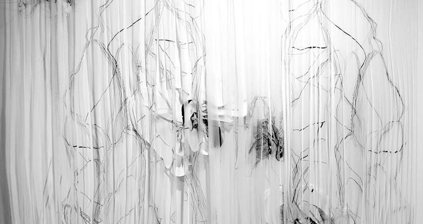 Breathe  drawing installation
