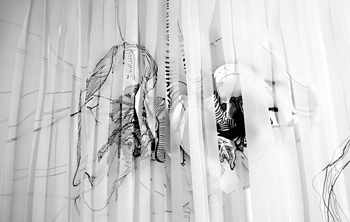 Breathe drawing installation detail