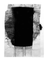 It Seems to be  Spreading, abstract drawing by Jennifer O'Brien