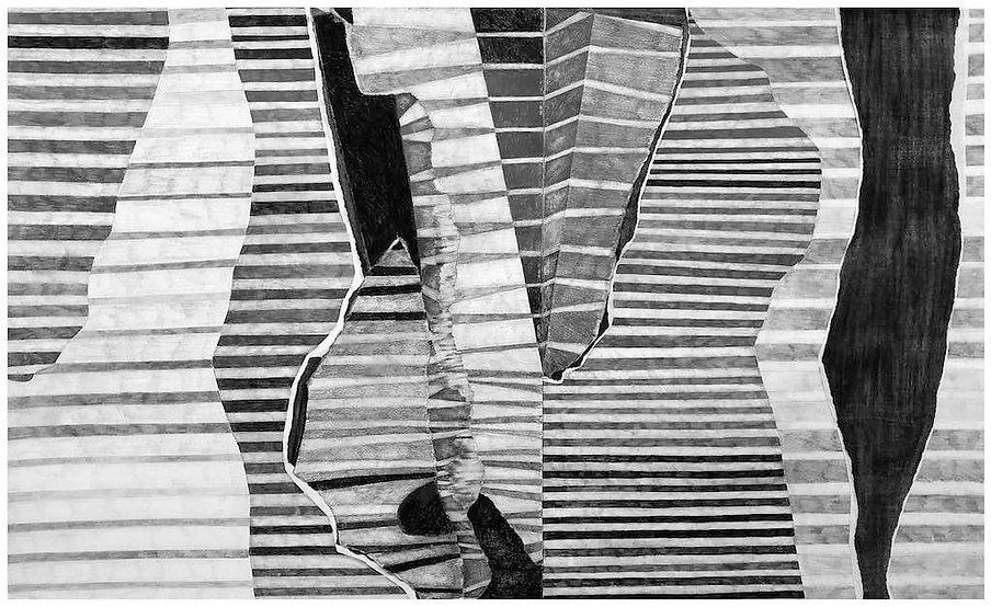 'Interruption' abstract drawing by Jennifer O'Brien.jpg
