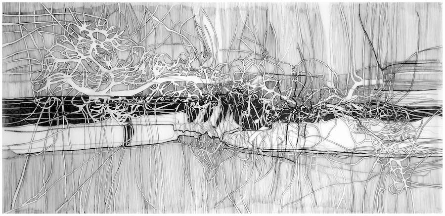 Constant Landing drawing by Jennifer O'B