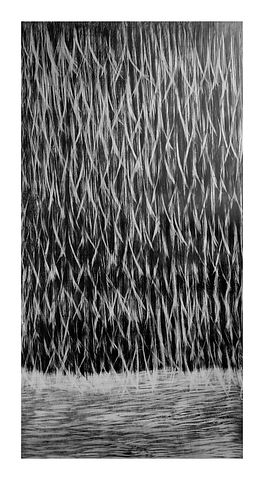 Changing Direction,  abstract drawing by Jennifer O'Brien