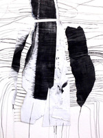 Blindingly Off White,(Detail) by Jennifer O'Brien