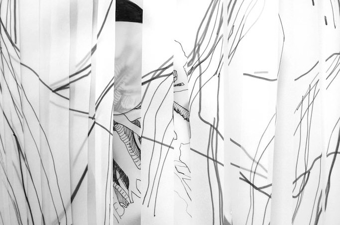Breathe, drawing installation detail
