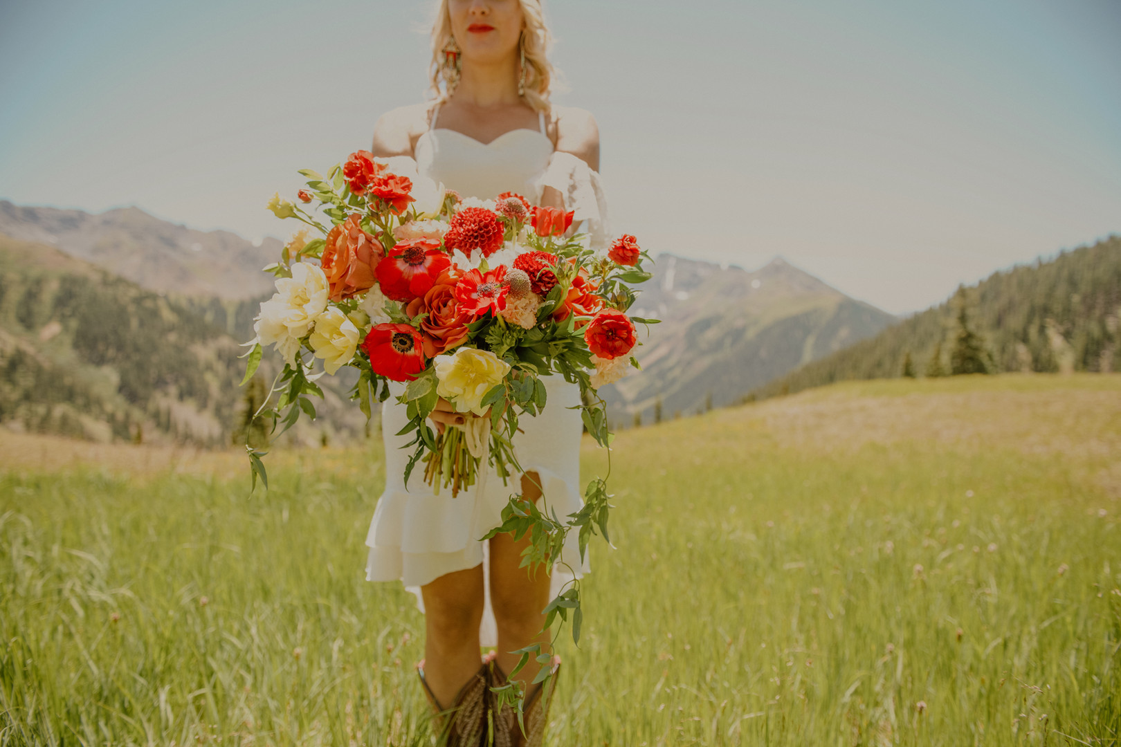 Angela & Dan's Red Mountain Elopement