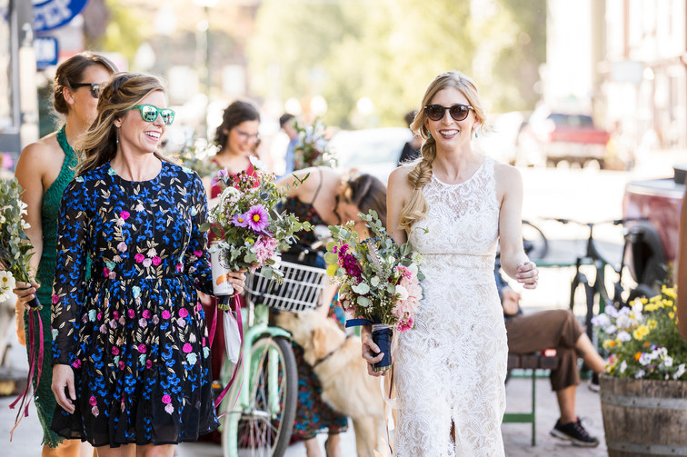 Kat and Joey's Colorado Micro Wedding
