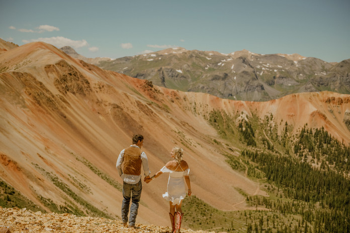 Angela & Dan's Red Mountain Elopement