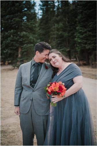 BA and Christine Colorado Wedding
