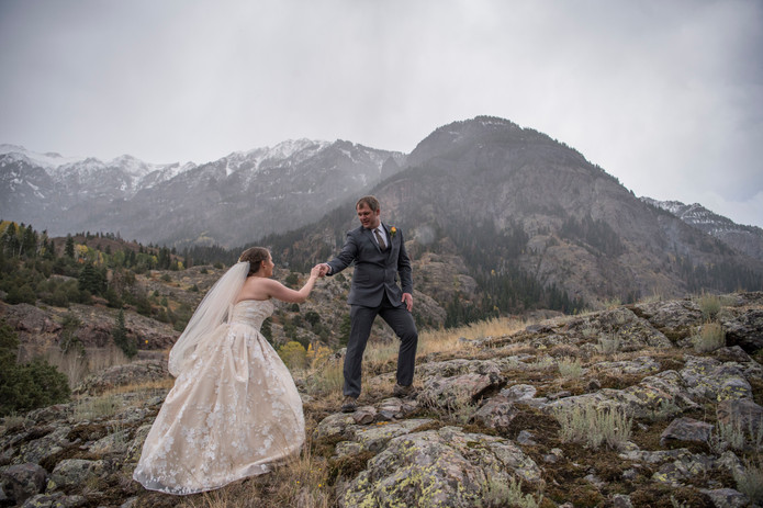 Stephanie & Tommy's Ouray Elopement