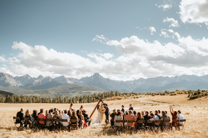 Katherine & Dave's Colorado Mountain Wedding