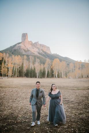 Beth Aynne & Christine's Cimarron Mountain Range Elopement