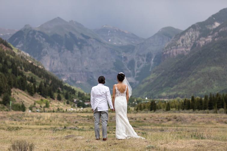 Kelli and Samantha Mountaintop Wedding