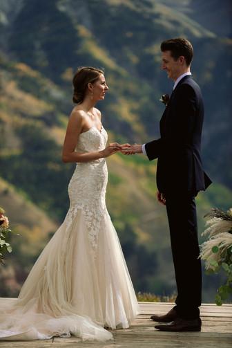 Breanna and Ian Ouray Mountain Wedding