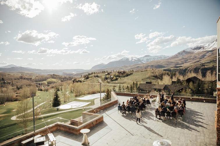 Spruce Mountain Ranch Wedding photos Col