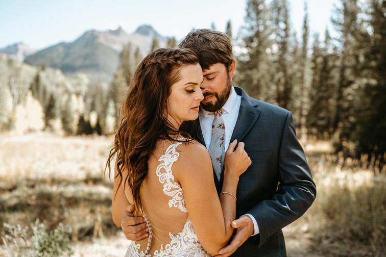 Katharine and Dave's Mountain Micro Wedding