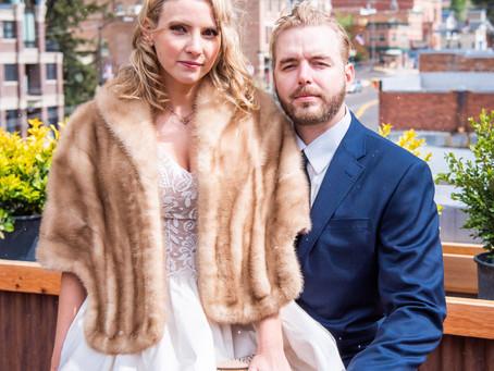 Photo Shoot Turned Wedding