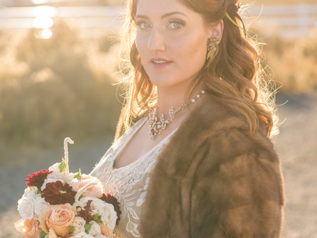 Vintage Autumn Styled Shoot