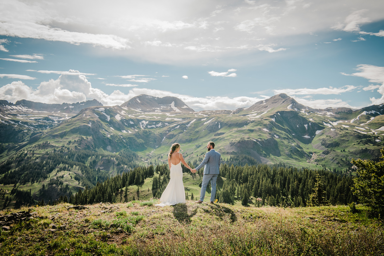 Alyssa & Cody's Mountain Elopement
