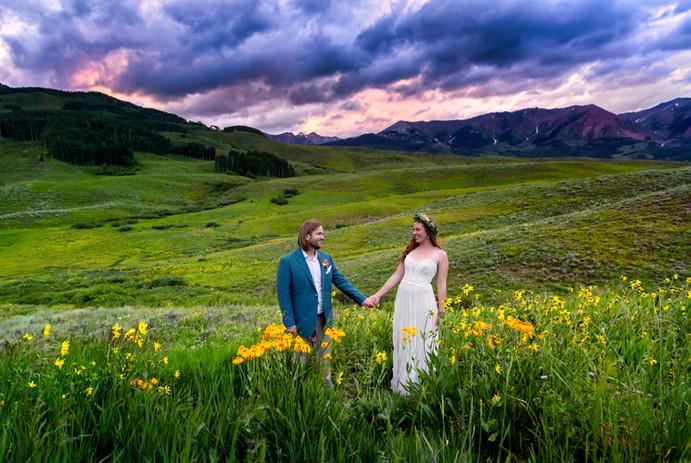 Lizzy & Ben's Crested Butte Wedding