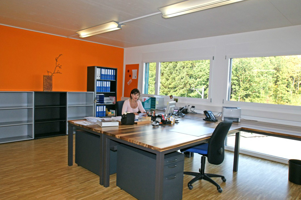 helle, moderne Büroräume