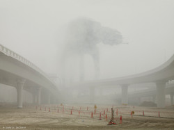 Cedric Delsaux at.at under fog