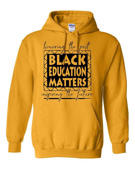 Black Education Matters Hoodie