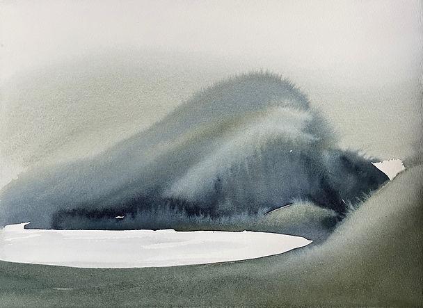 21 watercolour study 1, Garbh Eilean 28x38cm £900.jpg