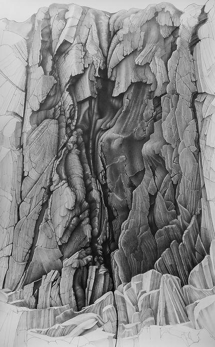 8 Rock Face by Toll a' Roimh 152x100cm £8000.jpg