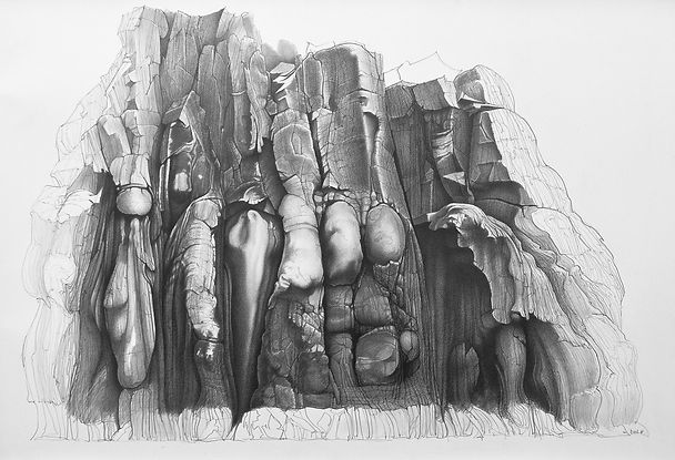 2 Rock face study, Clach Uaine 75x105cm £4500.jpg