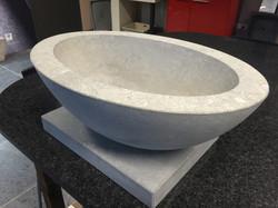 Evier salle de bain en marbre