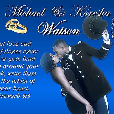 Mr & Mrs. Michael & Koresha Watson