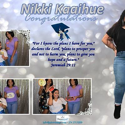 Nikki Kaaihue Graduation Party