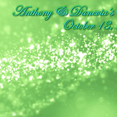 Anthony & Danevia's Wedding