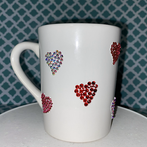 Heart Bling Mug