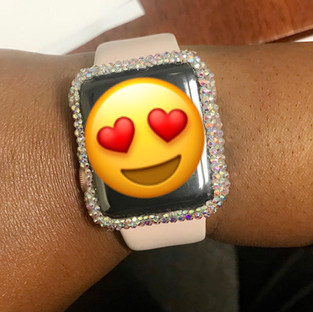 Bling Apple Watch Cover
