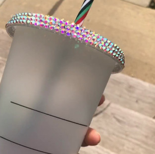 Bling Starbucks Tumbler