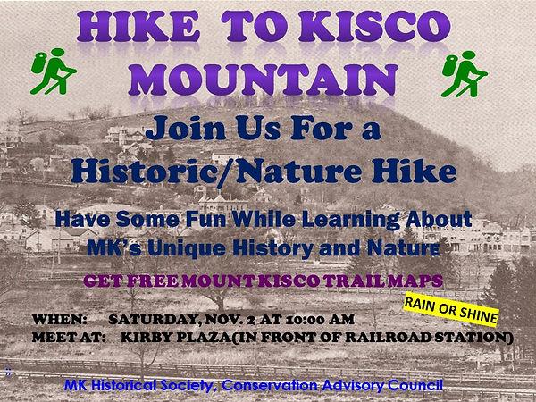 Kisco Mountain Hike   PR FLYER   10-10-2