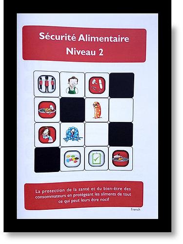 Hygiene Sue - Level 2 Study Book. French