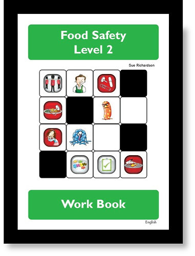 Hygiene Sue - Level 2 Food Safety Workbook English
