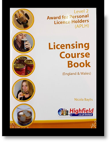 Licensing Course Book - Aplh