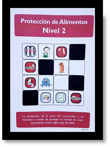 Hygiene Sue - Level 2 Study Book. Spanish