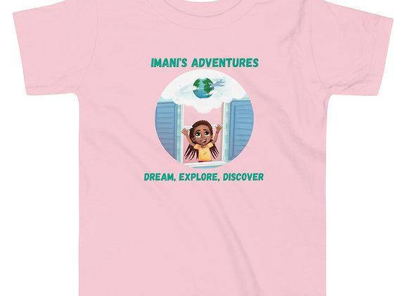 Imani's Adventures Toddler t-shirt