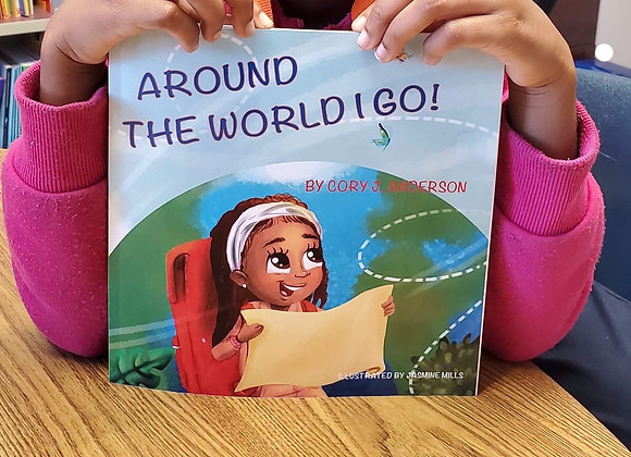 Around the World I Go book cover