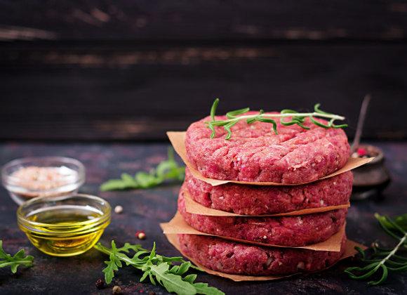 Hamburger al piatto