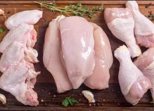 Pollo alla piastra con sale agli agrumi